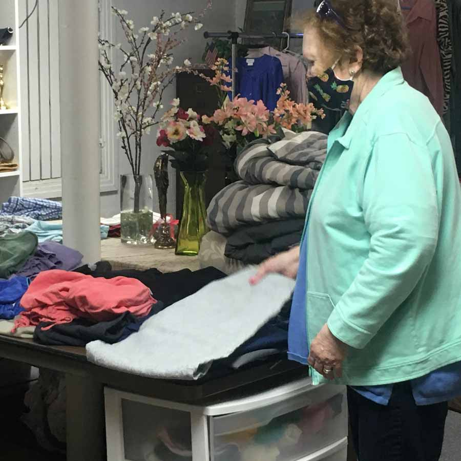 Zion Evangelical Lutheran Church, East Petersburg - Clothing Bank